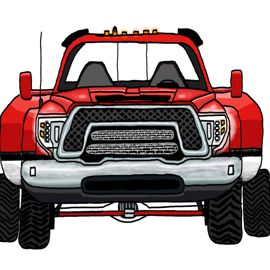 Red Rex Front 1